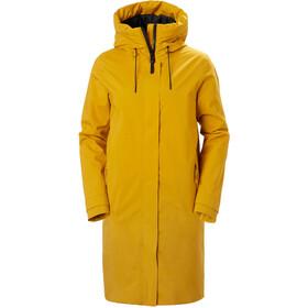 Helly Hansen Victoria Insulated Rain Coat Women, geel
